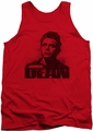James Dean tank top Dean Graffiti mens red