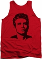 James Dean tank top Dean mens red