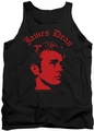 James Dean tank top Deep Thought mens black