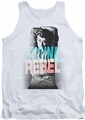James Dean tank top Graphic Rebel mens white