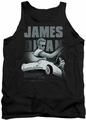 James Dean tank top Immortality Quote mens black