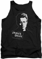 James Dean tank top Intense Stare mens black