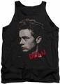 James Dean tank top Large Halftones mens black