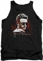 James Dean tank top New York Shades mens black