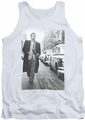 James Dean tank top On The Street mens white