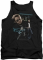James Dean tank top Pit Stop mens black