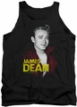 James Dean tank top Red Jacket mens black