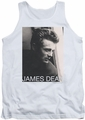 James Dean tank top Reflect mens white
