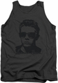 James Dean tank top Shades mens charcoal