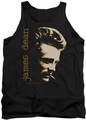 James Dean tank top Smoke mens black