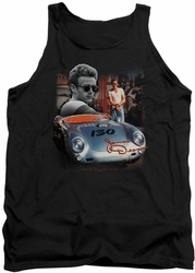 James Dean tank top Sunday Drive mens black
