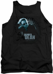 James Dean tank top Sunglasses At Night mens black