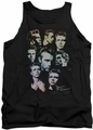 James Dean tank top The Sweater Series mens black