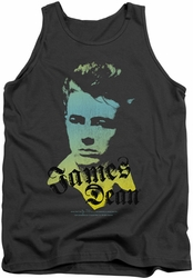 James Dean tank top Tortured Soul mens charcoal
