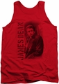 James Dean tank top Trenchcoat mens red