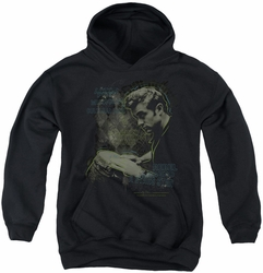 James Dean youth teen hoodie Bongo Words black