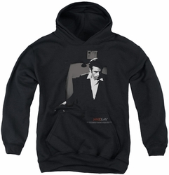 James Dean youth teen hoodie Exit black