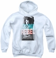 James Dean youth teen hoodie Graphic Rebel white