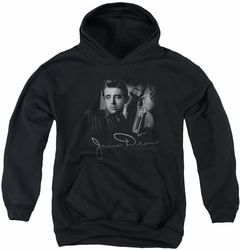 James Dean youth teen hoodie Mementos black