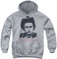 James Dean youth teen hoodie New Cowboy athletic heather