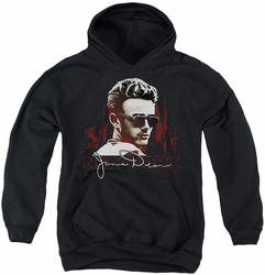 James Dean youth teen hoodie New York Shades black