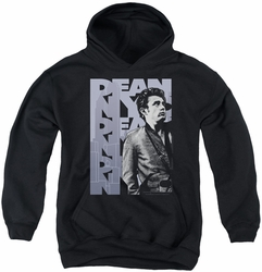 James Dean youth teen hoodie Nyc black
