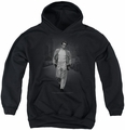 James Dean youth teen hoodie Out For A Walk black