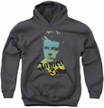 James Dean youth teen hoodie Tortured Soul charcoal