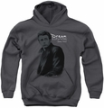 James Dean youth teen hoodie Trench charcoal