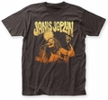 Janis Joplin Live fitted jersey tee coal mens pre-order