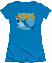 Jaws juniors t-shirt Day Glow turquoise