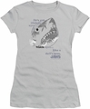 Jaws juniors t-shirt Like Doll's Eyes silver