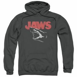 Jaws pull-over hoodie Cracked Jaw adult charcoal