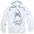 Jaws pull-over hoodie Locals Only adult white