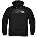 Jaws pull-over hoodie Logo Cutout adult black