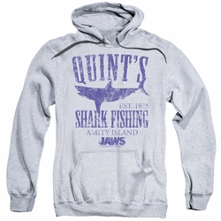 Jaws pull-over hoodie Quints adult athletic heather