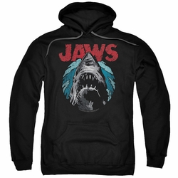 Jaws pull-over hoodie Water Circle adult black