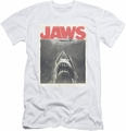 Jaws slim-fit t-shirt Classic Fear mens white