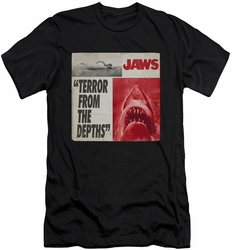Jaws slim-fit t-shirt Terror mens black