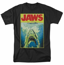 Jaws t-shirt Bright Jaws mens black