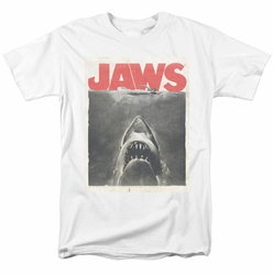 Jaws t-shirt Classic Fear mens white