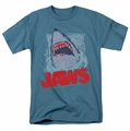 Jaws t-shirt From The Depths mens slate