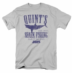 Jaws t-shirt Quints mens silver