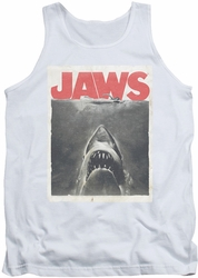 Jaws tank top Classic Fear mens white