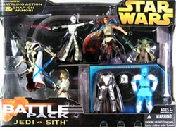 Jedi vs. Sith Action Figure Multi-Pack Battle Pack Star Wars