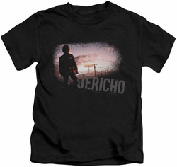 Jericho kids t-shirt Mushroom Cloud black