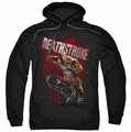 Deathstroke pull-over hoodie Blood Splattered adult black