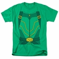 Green Arrow costume t-shirt mens kelly green