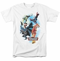 JLA t-shirt At Your Service mens white