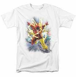 JLA t-shirt Brightest Day Flash mens white